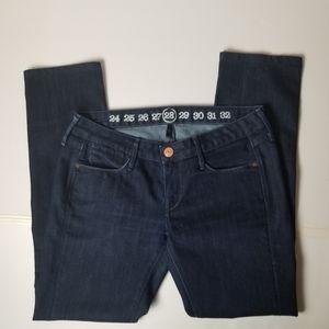 Earnest Sewn dark wash jeans size 28